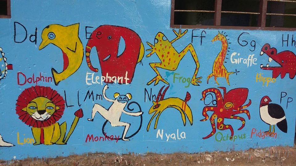 Zanzibar Schulwandillustartion
